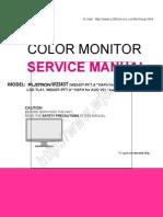 LG Flatron W2243T service manual