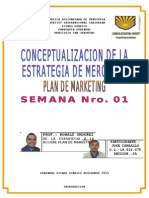 Conceptualizacion Estrategia de Mercadeo Semana 1 Jose Carballo