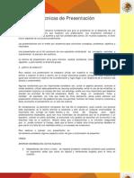 TECNICAS_PRESENTACION