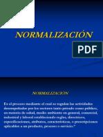 LA NORMALIZACIÓN A NIVEL INTERNACIONAL