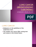 Lung Cancer (Bronchogenic Carcinoma)