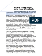 Red Hat Enterprise Linux 6 Para El Clueless Samba