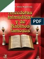 Anecdotas Talmudicas y de Rabinos Famosos