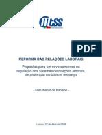 Reforma Laboral - Documento de Trabalho
