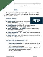 F. Sintácticas 7º  Lamaçães