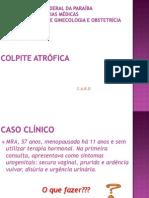 Colpite atrófica - Ginecologia