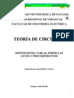 Teoría de Circuitos (1)