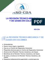 La Revision Tecnicomecnica y de Gases en Colombia