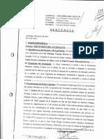 SENTENCIA  APLICANDO EL MODELO DE TOULMIN AREQUIPA PERU
