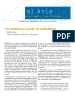 World View of Wahhabism