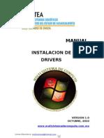 Manual de Instalacion de Los Drivers