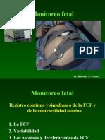 OBSTETRICIA - Monitoreo Fetal Anteparto