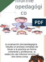 Informe Psicopedagogico (1)