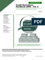 Credit Derivatives  Handbook –  Merill Lynch