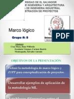 ADP-Grupo 8 -  Presentacion Exposicion Marco lógico (final)