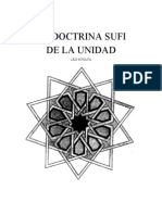 La Doctrina Sufi de La Unidad