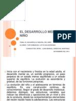 EL DESARROLLO MENTAL DEL NIÑO