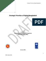 Strategic Priorities of Digital Bangladesh Jan 2011