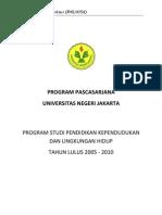 Daftar Judul Disertasi PKLH S3