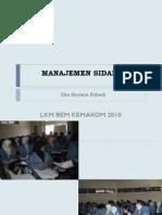 Dist Manajemen Sidang