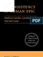 Inconsistency in Roman Epic