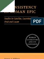 Inconsistency in Roman Epic