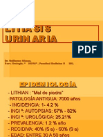 Litiasis i