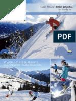 Super Natural Bc Ski Guide 2011