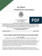 ACADEMIA NORTEAMERICANA DE LA LENGUA ESPAÑOLA