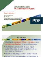 Standar Akuntansi Keuanan Entitas Tanpa Akuntanbilitas Publik SAK ETAP