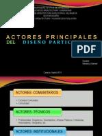 Actores del Diseño Participativo