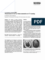 Extradural Hematomas - Measurement of Size by Volume Summation on CT Scanning