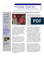First Christian Courier- November 12, 2011