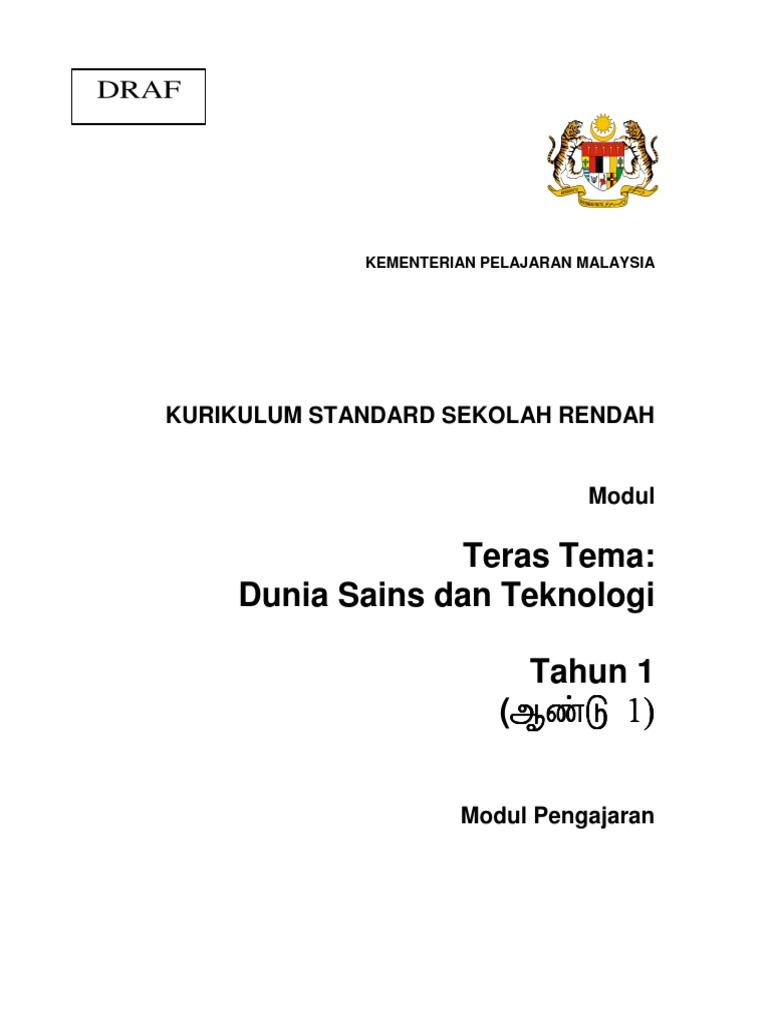 04 modul pengajaran sains tahun 1 versi bahasa tamil rh id scribd com