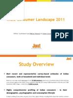 Juxt India Consumer Landscape 2011 MDS Brochure