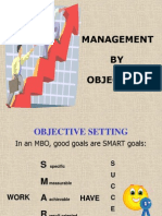 management by objective (mbo)