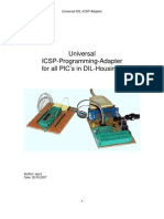 Universal ICSP Adapter for PIC in DIL Housing
