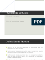 Pruebas de Software - ITSPA