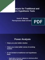 Murphy Power Analysis
