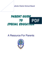Parent Guide to Special Education