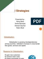 Global Strategy New