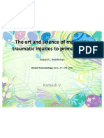 Art and Science of Managing Traumatic Injuries