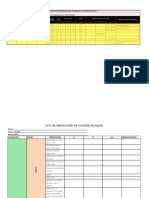 Lista de Verificacion Salud Ocupacional