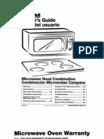 KENMORE Microwave Hood Combo 665.68580891 L0308308