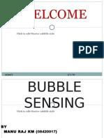 Bubble Sensing 17