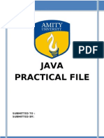 java practical file