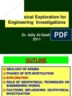Geophysical Investigations 4 Eng'g