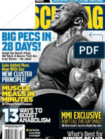 MuscleMag Intern - March 2011