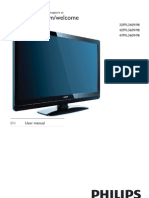 Tv Manual (42pfl3609)