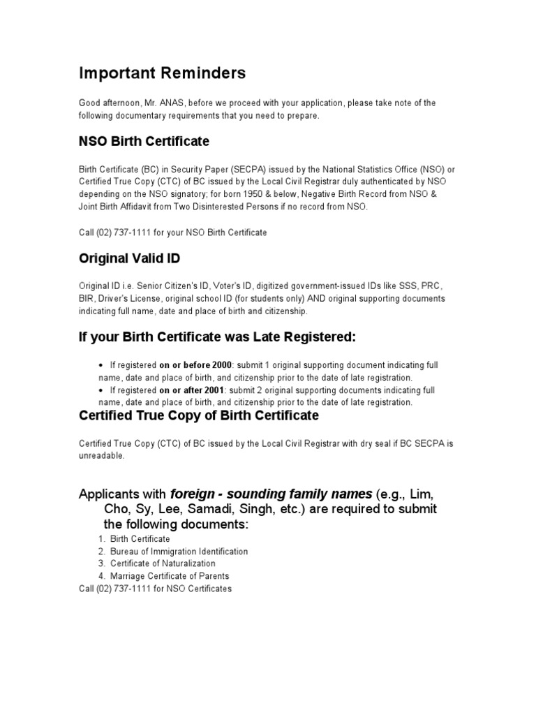 An as birth certificate identity document 1betcityfo Choice Image